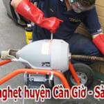 Thông cống nghẹt huyện Cần Giờ – Sài Gòn giá rẻ, uy tín LH: 0774.361.201