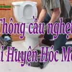 Thông cầu nghẹt tại Huyện Hóc Môn giá rẻ, chuyên nghiệp 0338 379 180