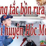 Thông tắc bồn rửa bát tại huyện Hóc Môn giá rẻ, hiệu quả