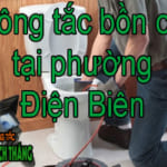 Thông tắc bồn cầu tại phường Điện Biên giá cả hợp lí với thị trường